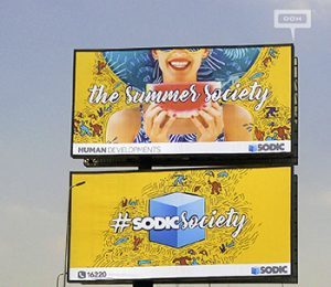 SODIC launches a second OOH campaign to focus on branding