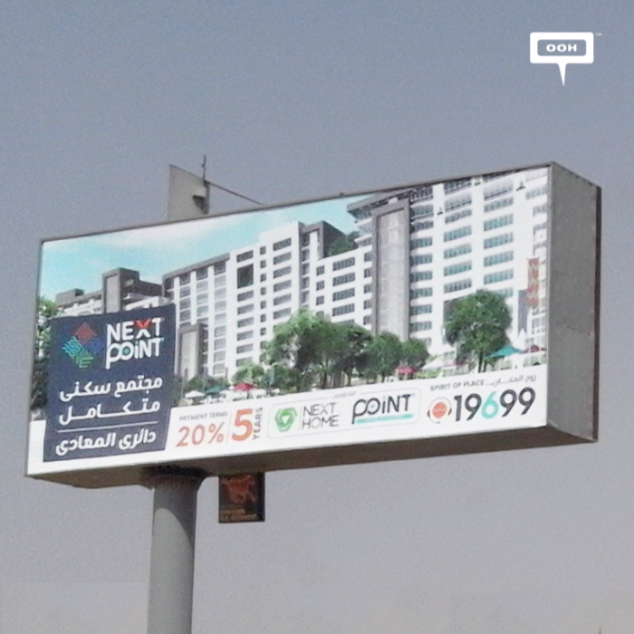 Next Point continues outdoor campaign