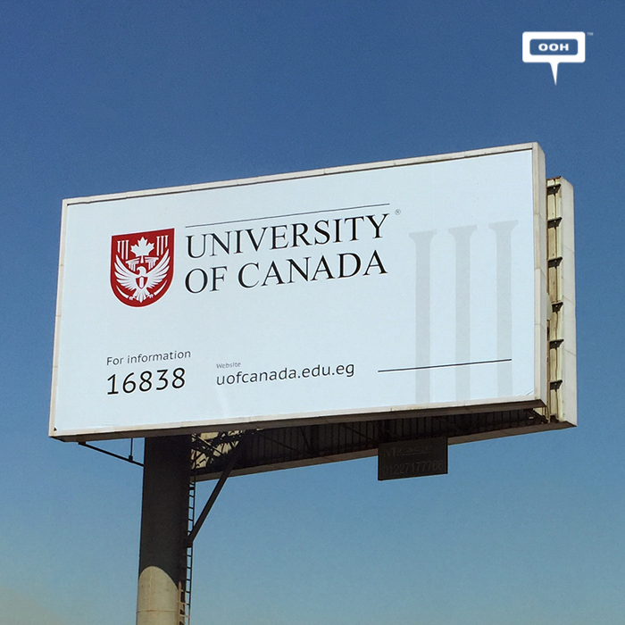 U of Canada starts OOH promotion with branding campaign