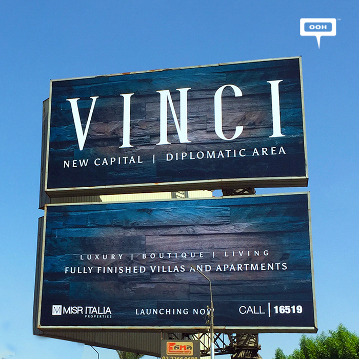 Misr Italia launches Vinci with bold outdoor campaign