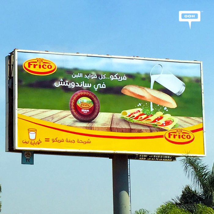 Frico cheese returns with outdoor campaign