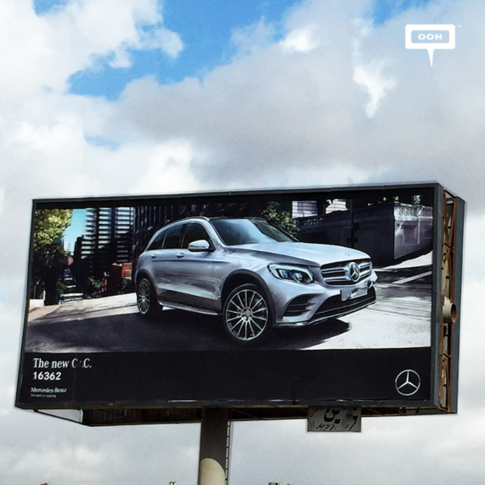 """Mercedes focuses OOH message of the new """"GLC"""""""
