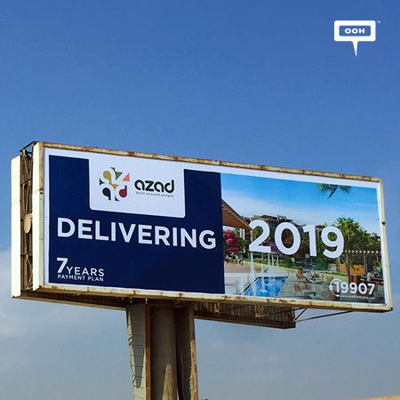 AZAD announces upcoming delivery with new OOH