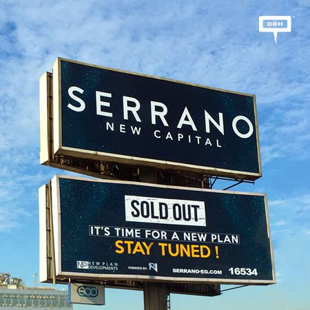 New Plan teases viewers with outdoor campaign for Serrano